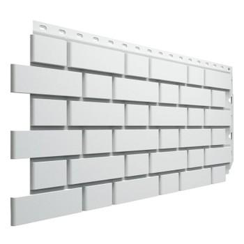 Панель фасадная Flemish белый 1095х420 мм (0,46м2) Дёке