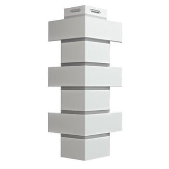 Угол наружный Flemish белый 140х420 Дёке
