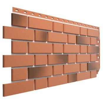 Панель фасадная Flemish красный жженый 1095х420 мм (0,46м2) Дёке