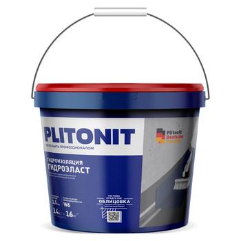 Гидроизоляция эластичная Плитонит Гидро Эласт, 4 кг