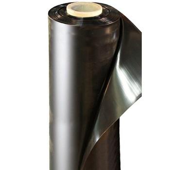 Пленка полиэтиленовая черная 80мкм шир. 3м (рулон 300м2)