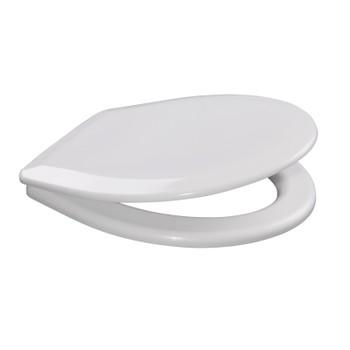 Крышка унитаза универсальная белая К-01 Орио 1уп=15шт