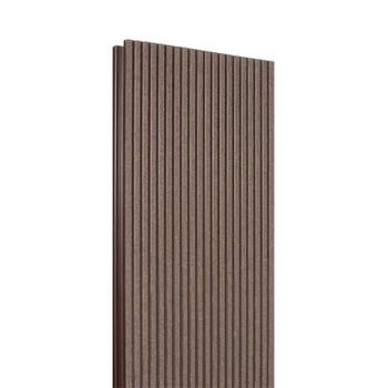 Доска террасная полимерная 24х160х3000 Шоколад (Россия)