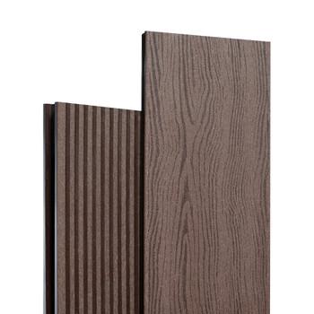 Доска террасная полимерная 27х139х3000 мм Шоколад