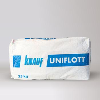 Шпаклевка финишная гипсовая высокопрочная Кнауф Унифлот 25 кг