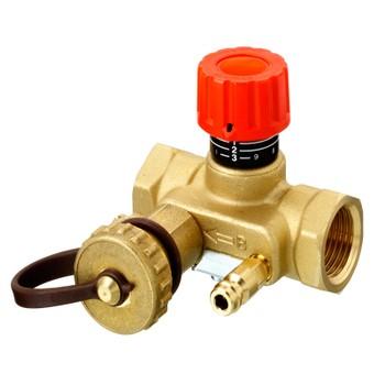 Клапан ручной регулировки USV-I c пред настройкой со спуск. краном PN16, DN25 Danfoss