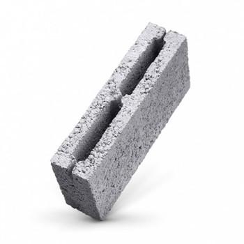 Шлакоблок перегородочный пустотелый 390х90х188 мм