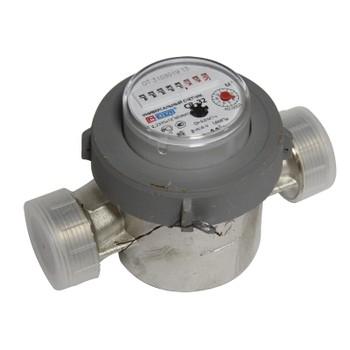 Счетчик воды антимагн. универсальный Meter СВ-32 Ду32 со штуцерами кварт. 1,5м3/час (уп.20шт.)