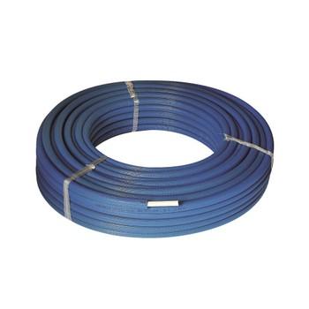 МП Труба PEX-AL-PEX, 16х2 STANDART В Изоляции синяя HENCO бухта 100м