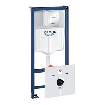 Инсталляция для унитаза Grohe Rapid SL 38775001 4 в 1 с кнопкой смыва