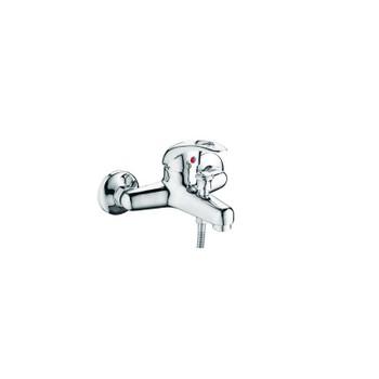 Смеситель д/ванны Accoona 40 A6040 (однорычаж., кор.излив) Силумин.хром.