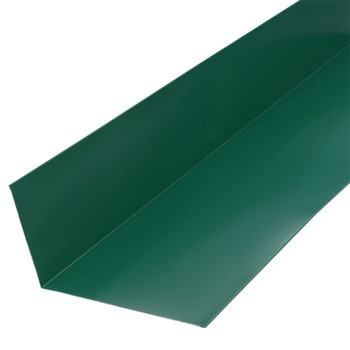 Планка примыкания верхняя 250х147х2000 (ПЭ-6005-ОН) зел.мох