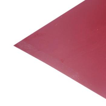 Лист плоский (ПЭ-3005-0,45 мм) 1,25х2 красное вино