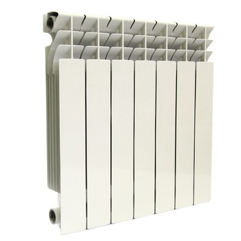 Радиатор бимет. LONTEK 500-7 (глубина 80 мм)