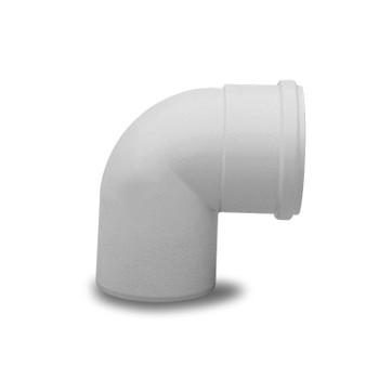 Отвод для раздельного дымохода Ду80 90° BAXI KHG 714018010