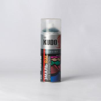 Эмаль аэрозольная зеленый мох KUDO (RAL 6005) 0,52л