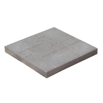 Плитка тротуарная полимерпесчаная 300х300х30 мм серая
