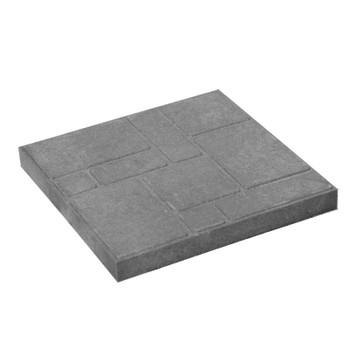 Плитка тротуарная полимерпесчаная 300х300х20 мм серая