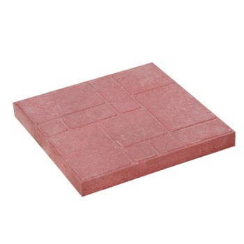 Плитка тротуарная полимерпесчаная 300х300х20 мм красная