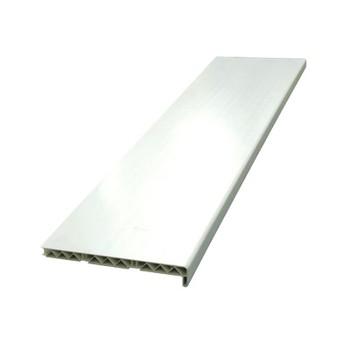 Подоконник 300мм ПВХ белый 6 м (нарезка 1,5м, 3м)