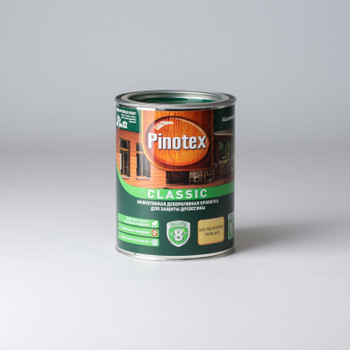 Декоративно-защитное средство д/дерева Pinotex Classic б/цвет., 1л