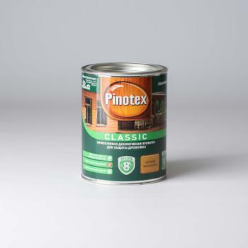 Декоративно-защитное средство для дерева Pinotex Classic Калужница, 1л