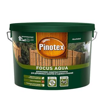 Декоративно-защитная пропитка д/пиленой древесины Pinotex Focus Золотая осень, 5л