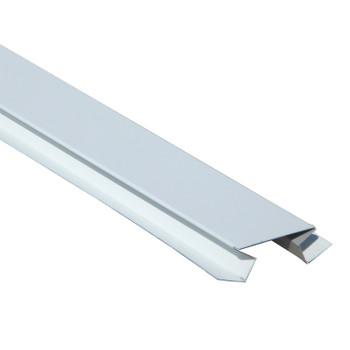 Планка угла внутреннего сложного МП Белая 75х3000 мм RAL 9003