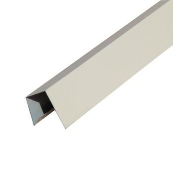 Планка заверш. сложная метал. (светлая слон. кость RAL 1015) 30х25х3000