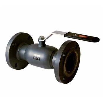 Кран шаровый JIP Standart FF, Ду150, Ру16, фланцевый, с рукояткой, стандартнопроходной, DANFOSS 065N9630