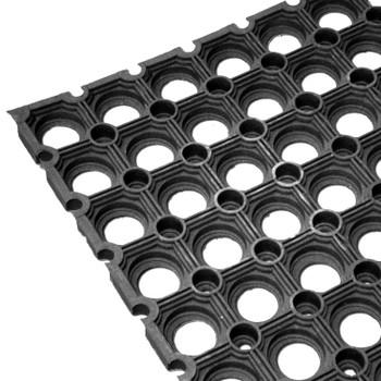 Коврик резиновый Ринго-мат (80х60, 16 мм, черный)