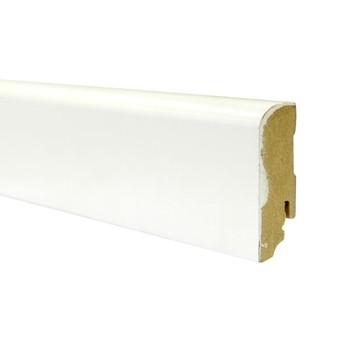 Плинтус Braim окрашиваемый (537112, Classic, 19х70х2400 мм, Белый)