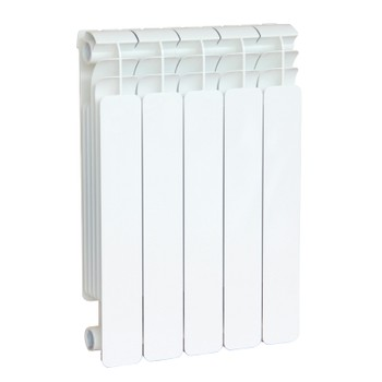 Радиатор алюм. FARAL TRIO UP 500-6 (глубина 95 мм)