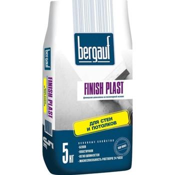 Шпатлевка полимерная Bergauf Finish Plast, 5 кг