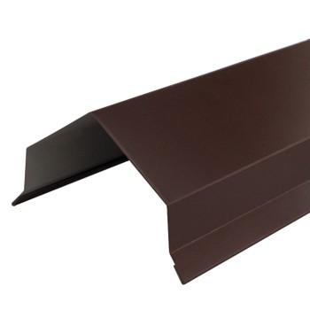 Парапет 2000х120 мм (ПЭ-01-8017-ОН), шоколад