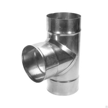 Тройник-Д 90° ф115 (430/0,5) FERRUM