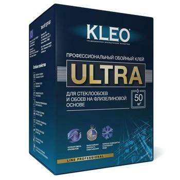 *удал*Клей обойный KLEO ULTRA, (Ultra, 50м2, для флизелиновых обоев под покраску и cтеклоооев, 500гр)