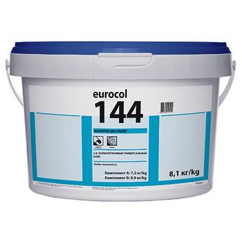 Клей Forbo 144 PU 2K, 7,875кг (7+0,875кг), для внутренних работ, морозостойкий