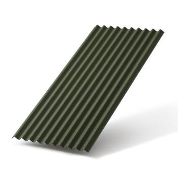 Ондулин SMART лист зеленый 1950х950мм