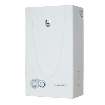 Котел газовый настенный Premium-30E (30кВт, 2х конт.,закр.кам.,2 т/о) KOREASTAR
