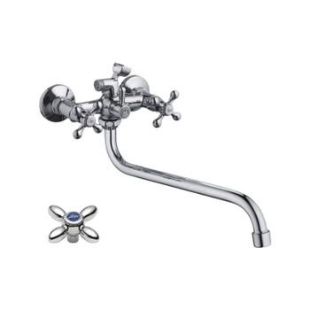 Смеситель д/ванны Accoona A7578 +длин.излив A7130S
