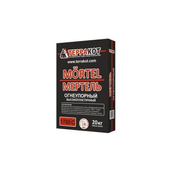 Кладочная смесь огнеупорная Терракот Мертель, 20 кг