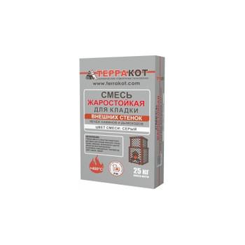 Кладочная смесь жаростойкая для печей и каминов Терракот, 25 кг