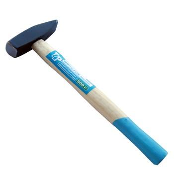 Молоток кованый 500гр деревянная ручка, T4P