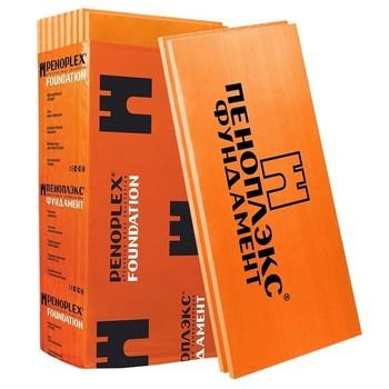 Утеплитель Пеноплэкс Фундамент 1200х600х50 мм 8 штук в упаковке