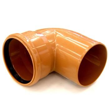 Отвод наружный канализационный 250 87°