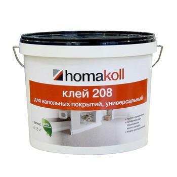 Клей Homakoll универсальный (208, 14 кг, 300-500 г/м2, срок хранения 24 мес., морозостойкий)