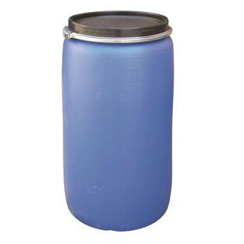 Бочка 227 литров с крышкой на обруч