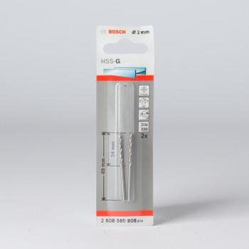 Сверло по металлу 2,0мм, BOSCH