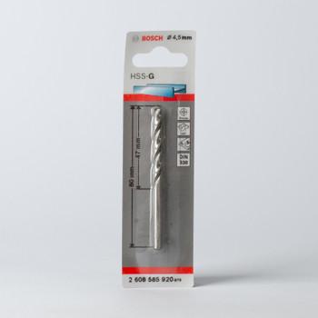 Сверло по металлу 4,5мм, BOSCH